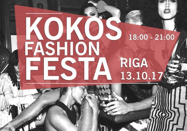 KOKOS Fashion FESTA, 13.10.17