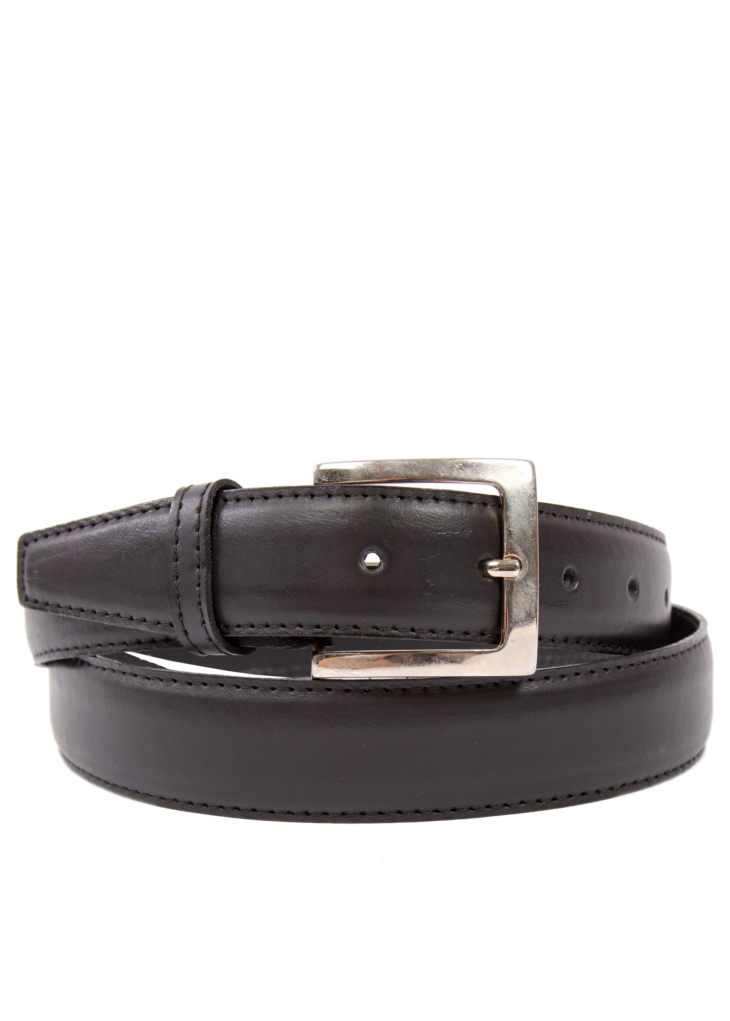 We attach belt buckles securely with snaps on our standard belts and Chicago screws on our double thick harness leather belts. We guarantee our work %. If you should have any problems with the hardware or stitching repairs are free of charge.