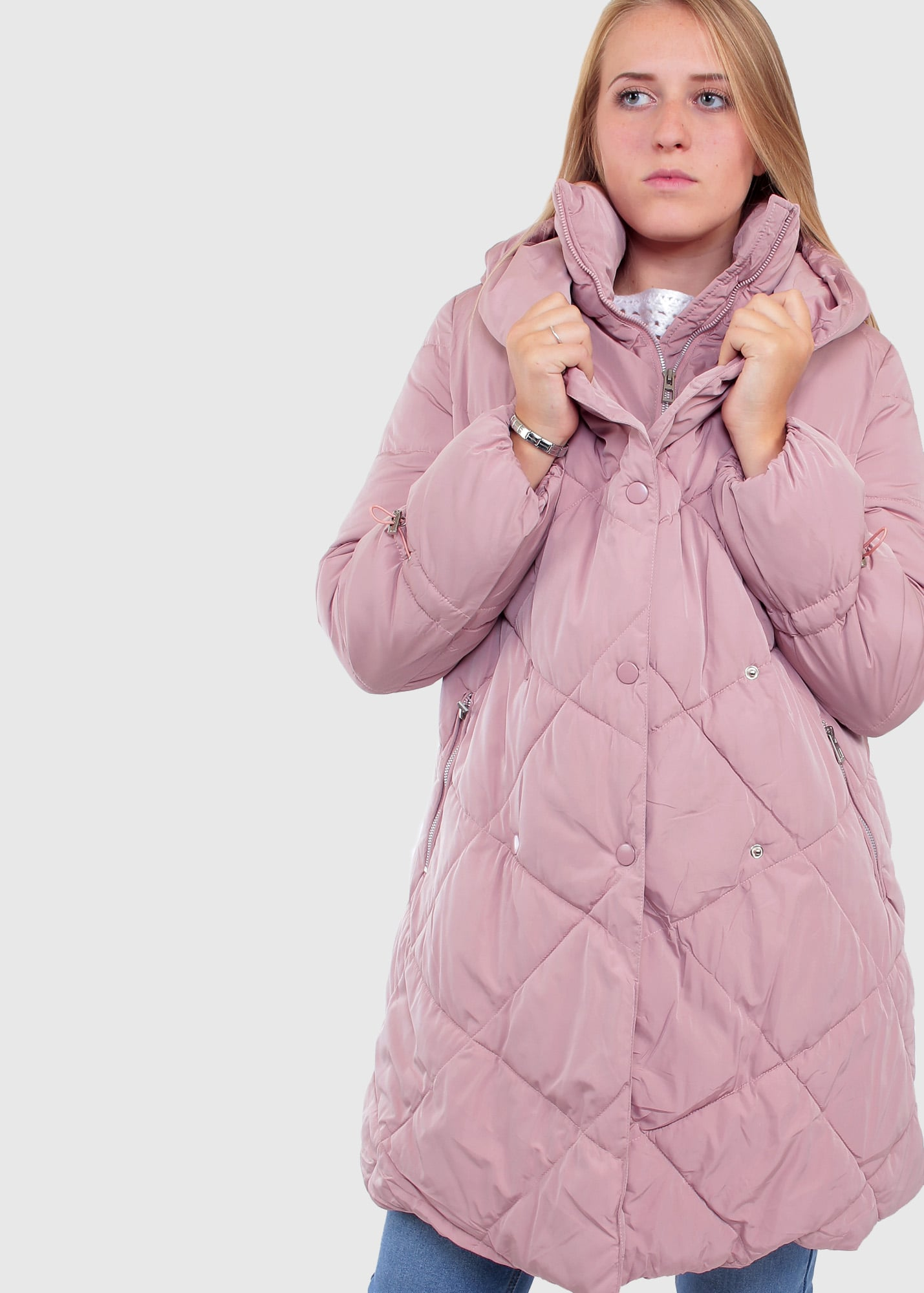 Elma pink women's jacket