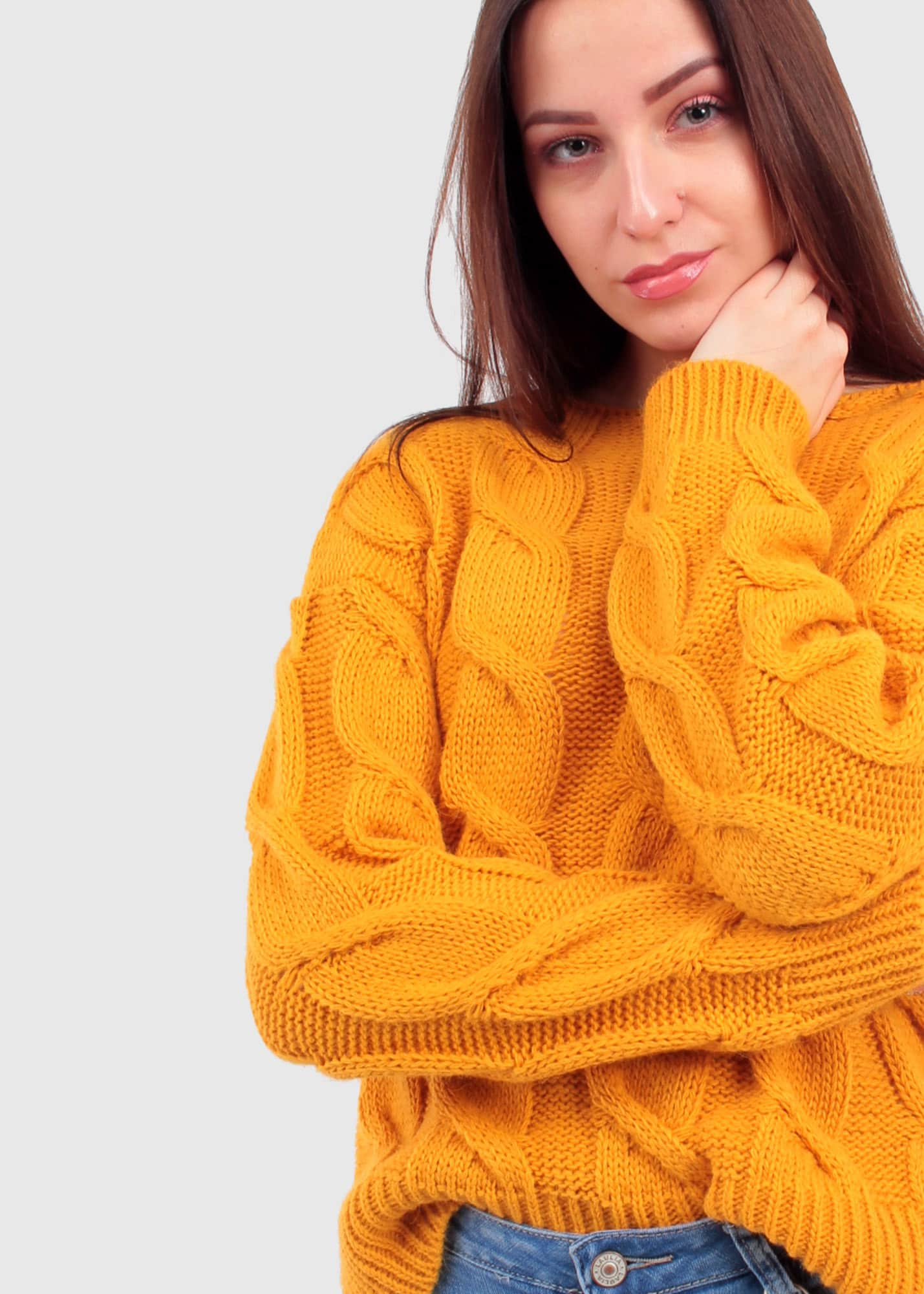 Apollonia Giallo sweater