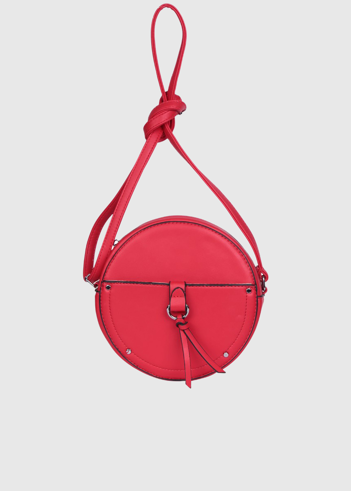 Carana women's round red bag