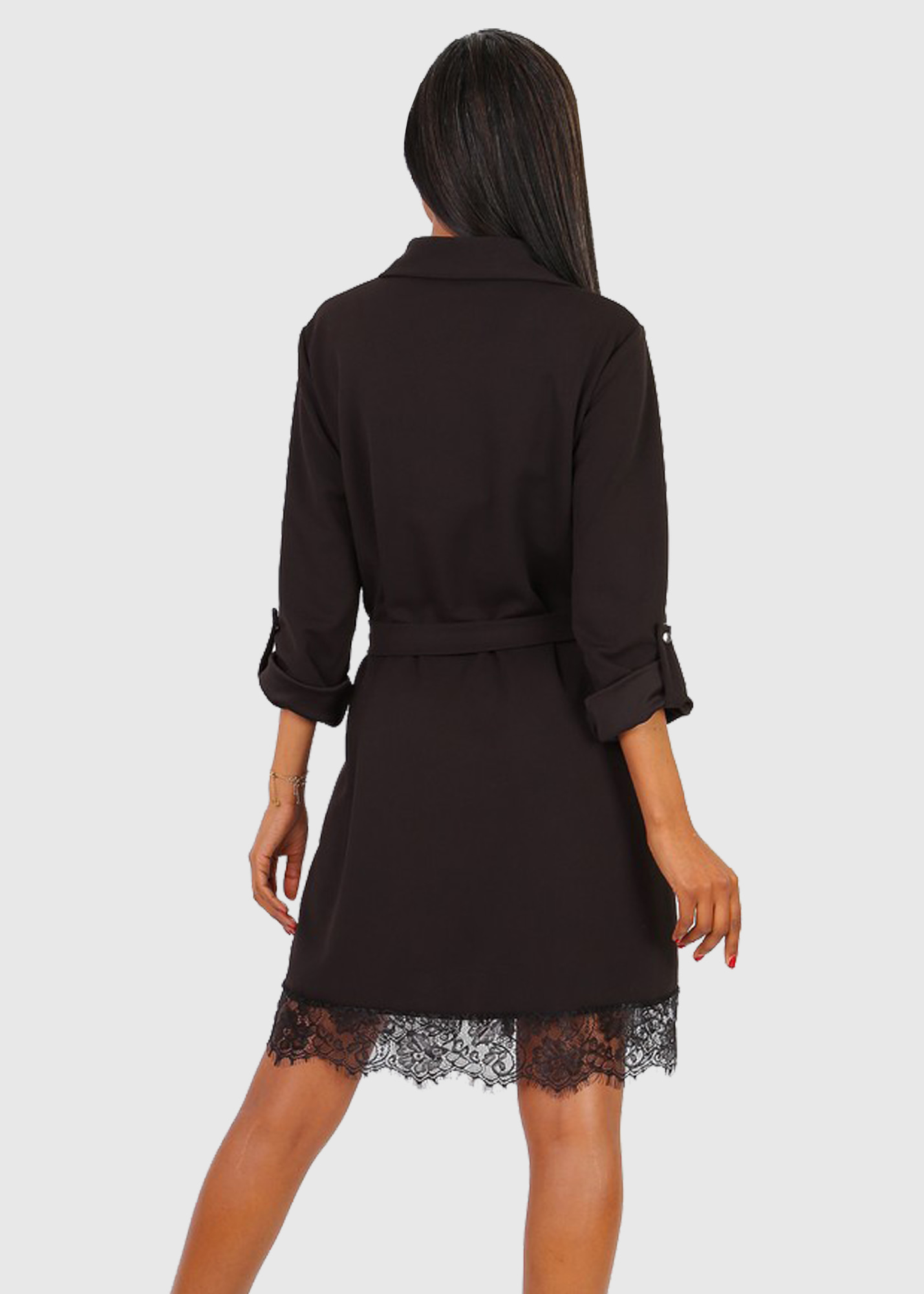 Photo №1 Nunziella italian black shirt dress