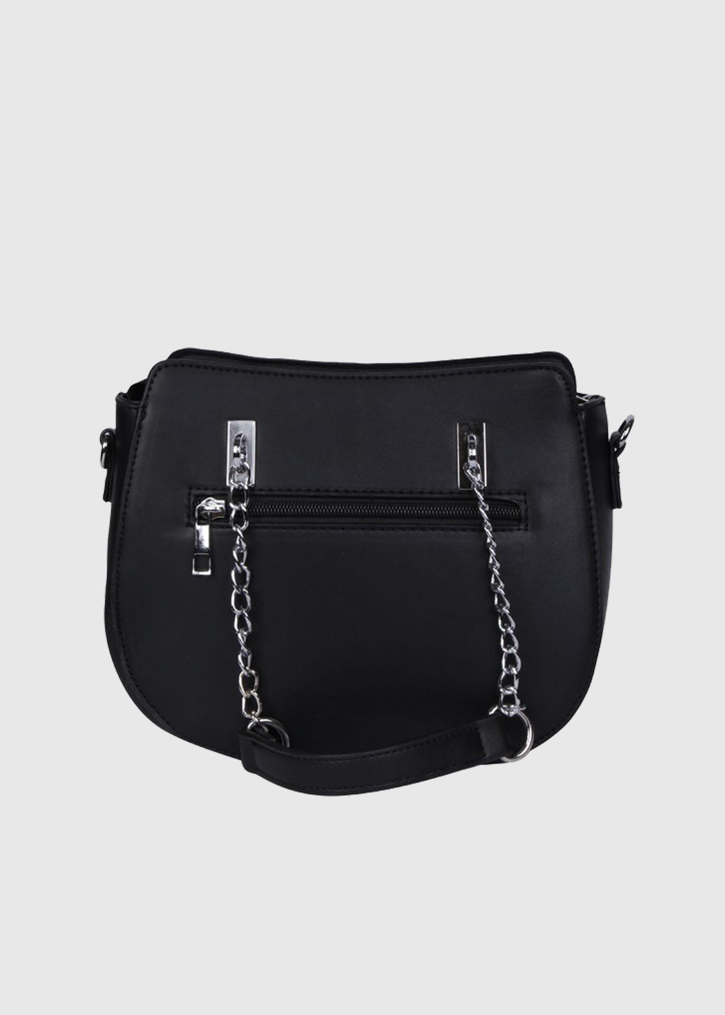 Photo №1 Giacinta black bag with chain strap