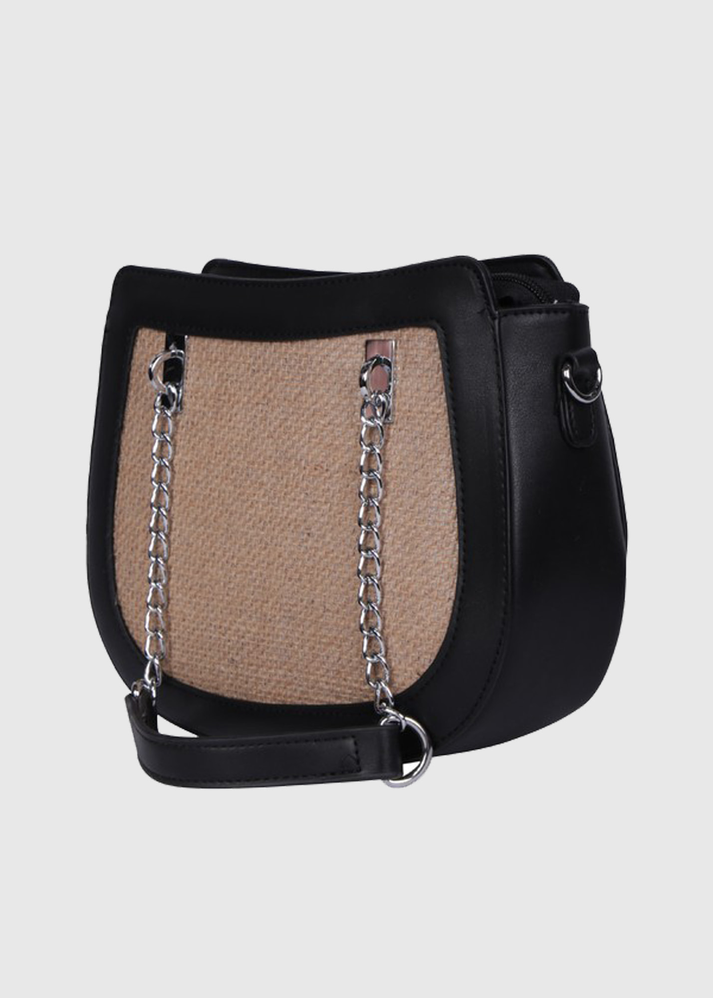 Photo №2 Giacinta black bag with chain strap