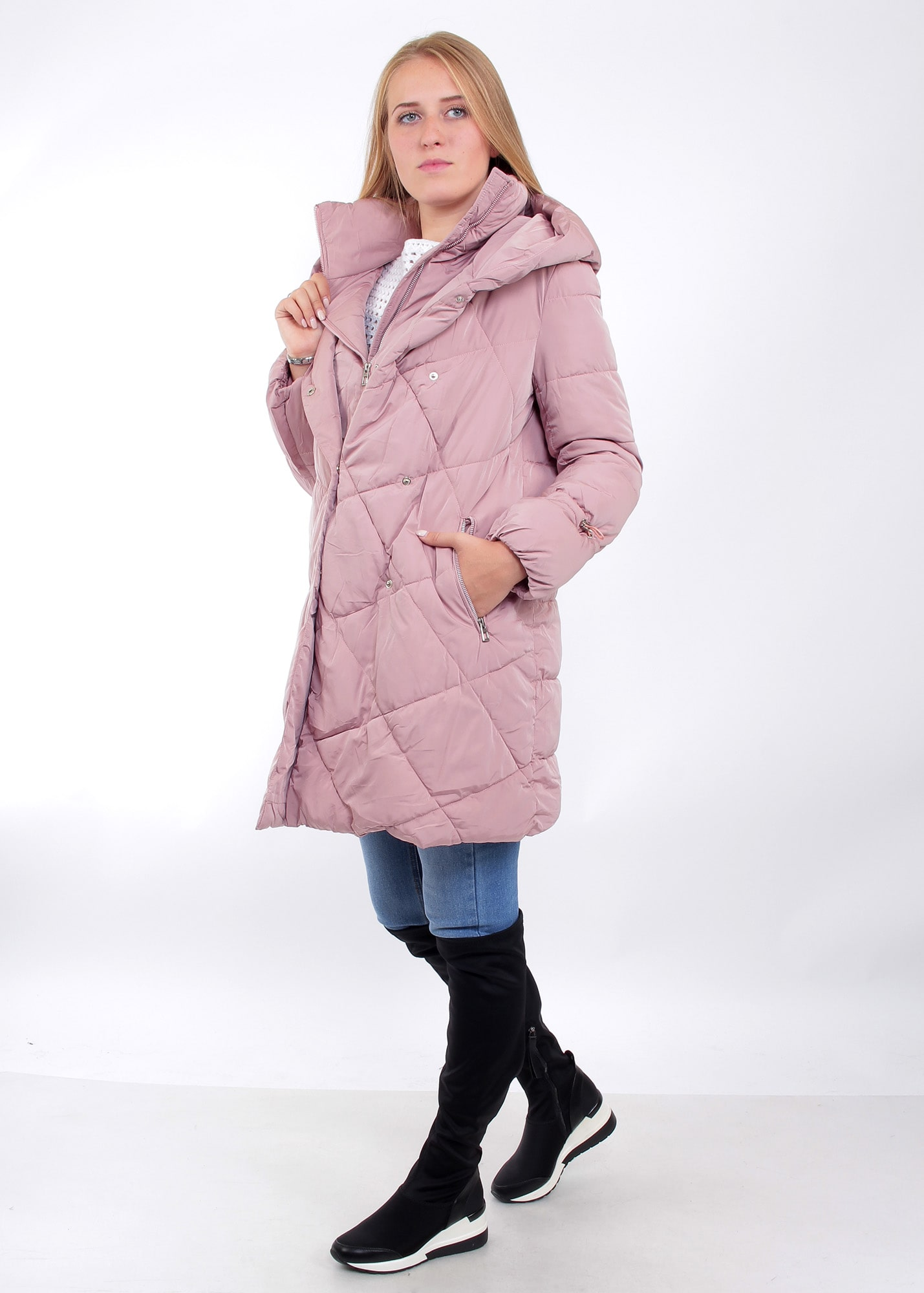 Photo №3 Elma pink women's jacket