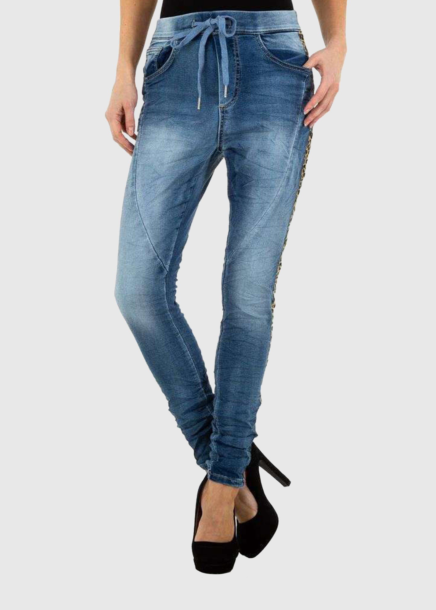 Photo №2 Laguna Slim Fit jeans with stripes