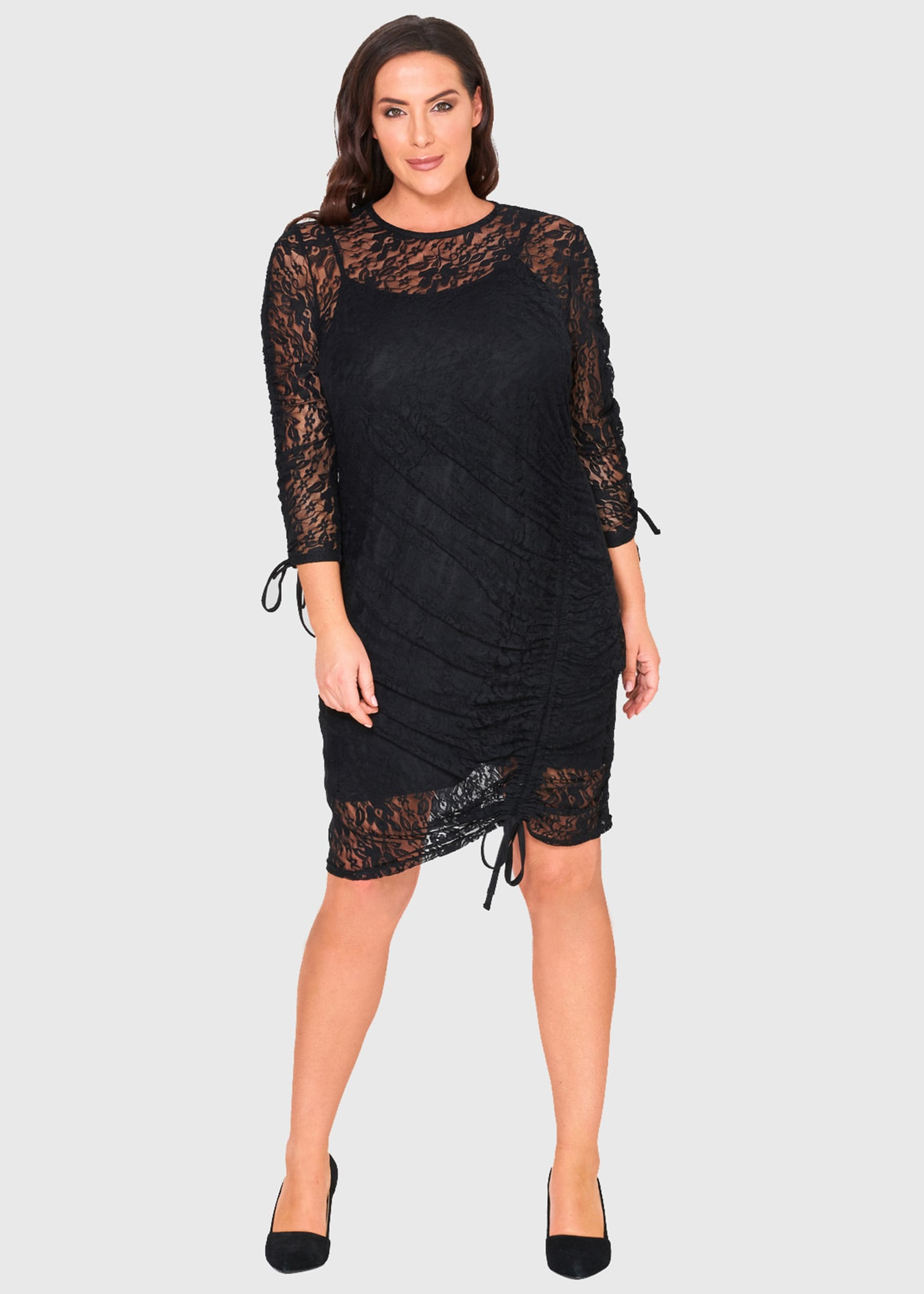 Photo №3 Edvige Plus Size dress