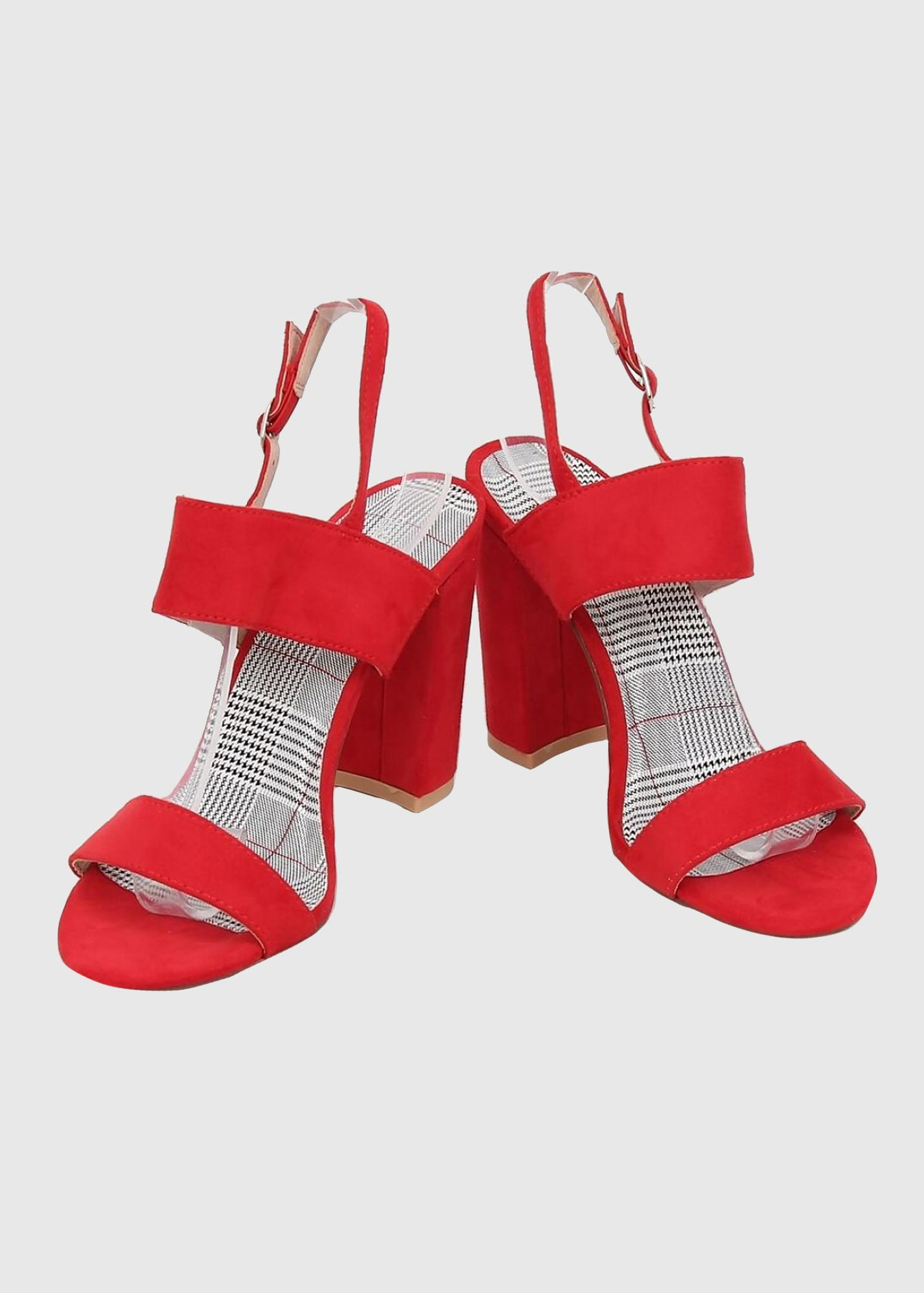 111897305e940 Aryana red heeled sandals - Clothing store KOKOS