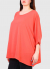 Photo №2 Francesca Plus Size coral blouse